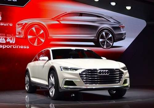 Audi Prologue Allroad на Шанхайском автосалоне