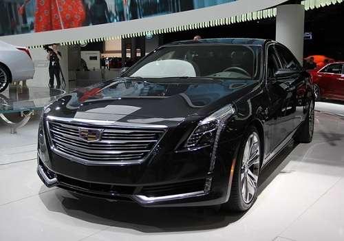 Cadillac CT6 на Автосалоне в Нью-Йорке 2015