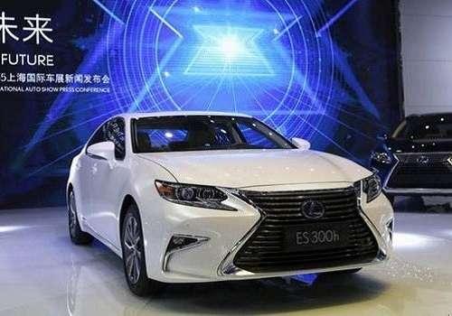 Lexus ES на Шанхайском автосалоне 2015