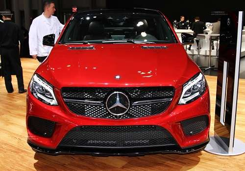 Mercedes-Benz GLE coupe на Автосалоне в Нью-Йорке 2015