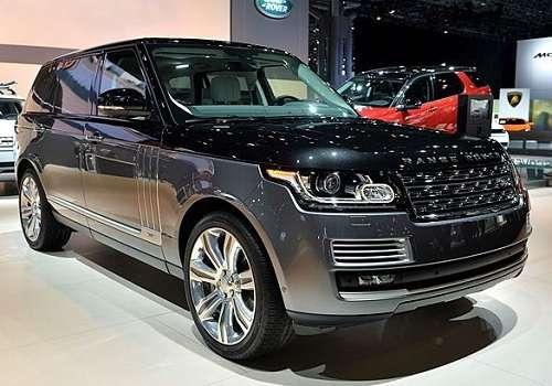 Range Rover SVO на Автосалоне в Нью-Йорке 2015