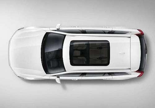 Volvo XC90 2015 года. Вид сверху