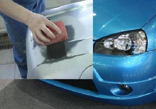 Альтернативные способы ремонта бампера
