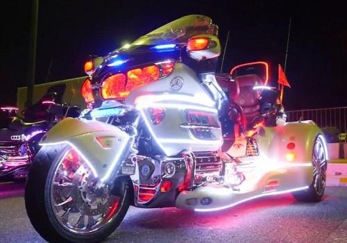 Световой тюнинг мотоцикла