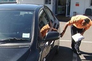 Осмотр авто в ходе покупки