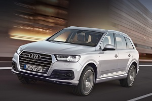 Audi Q7 2015 года