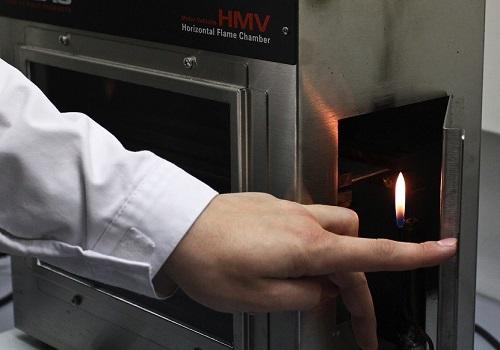 Испытание материалов огнем