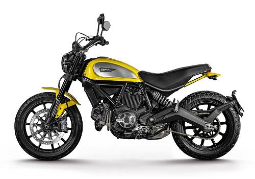 Мотоцикл Ducati Scrambler 2015 года
