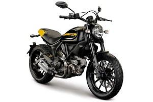 Мотоцикл Ducati Scrambler Icon 2015 года