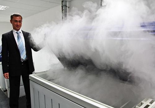 Соляная ванна в лаборатории качества