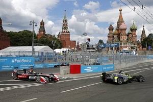 Этап Formula E в Москве