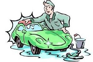 Очистка автомобиля от грязи