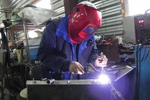 Ремонт радиатора грузового автомобиля