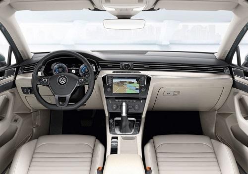 Салон Volkswagen Passat B8 2015