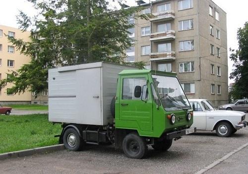 IFA Multicar-25 с фургоном