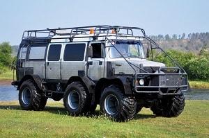 Вездеход ГАЗ Садко-3 - Большая Машина Шефа