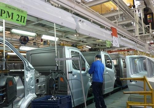 Сборочный конвейер ГАЗ