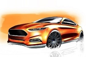 Дизайн Ford Evos