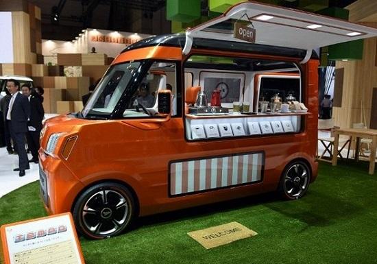 Кафе Daihatsu Tempo Concept