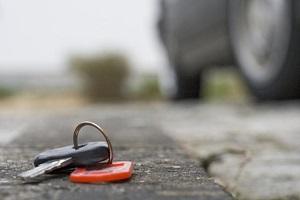 Потеряли ключ от машины