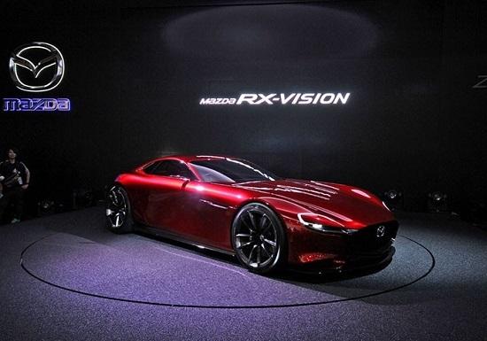 Mazda RX-Vision на Токийском автосалоне 2015