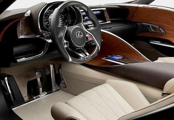 Салон Lexus RX 2015