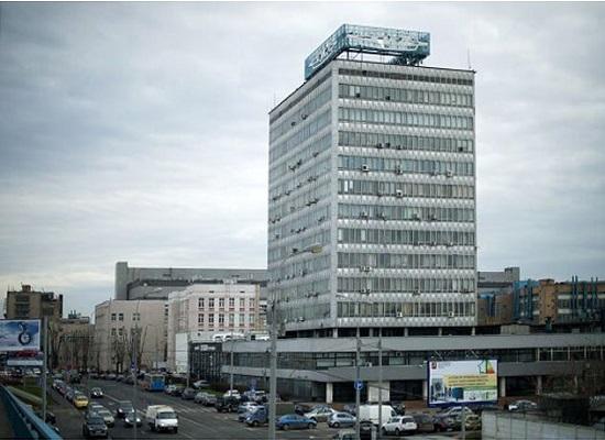 Территория завода ЗИЛ в Москве