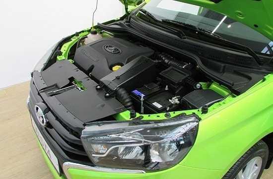 Двигатель Lada Vesta
