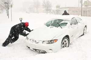 Как выехать из снега