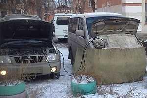 Как запустить двигатель если замерз автомобиль