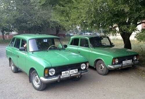 ИЖ 2125 Комби и Москвич 412
