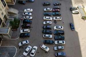 Проблема парковок во дворах
