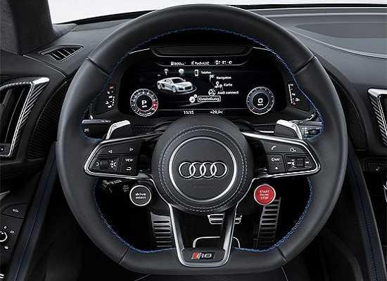 Руль Audi R8 2016 года