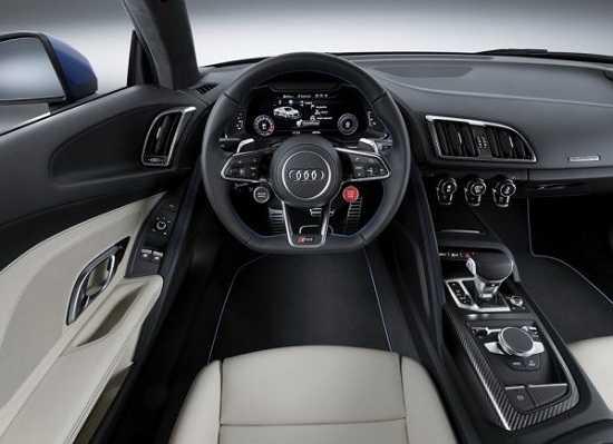Салон Audi R8 2016 года