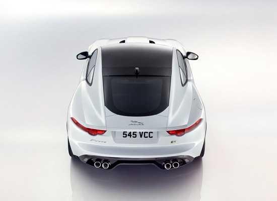Jaguar F-Type 2015 сверху