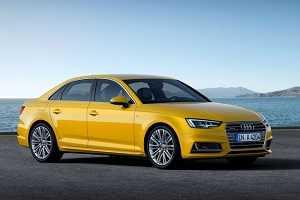 Новая Audi A4 2016 года