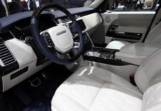 Салон Land Rover Range Rover SVAutobiography