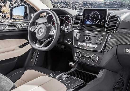 Салон Mercedes-Banz GLE