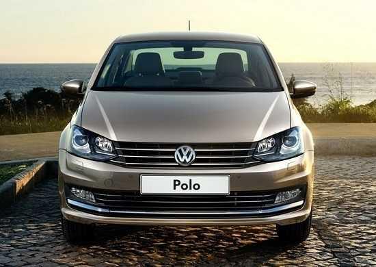 Седан Volkswagen Polo 2016 года