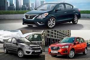 Три самые дешевые машины с автоматом