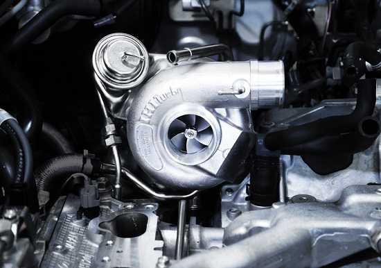Турбокомпрессор двигателя