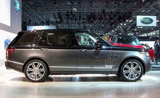 Удлиненный Land Rover Range Rover SVAutobiography
