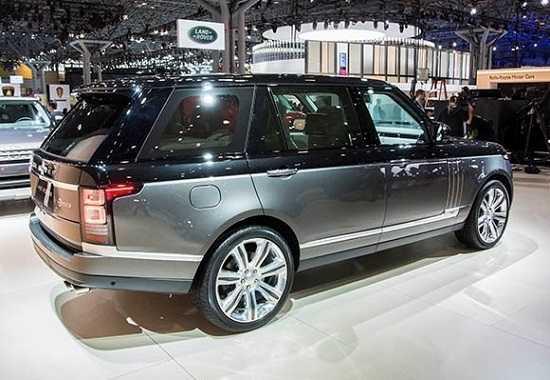 Land Rover Range Rover SVAutobiography 2016 года