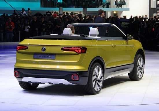Volkswagen T-Cross в Женеве 2016 год