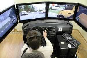 Виртуальный тренажер водителя