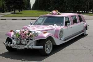 Выбор свадебного автомобиля
