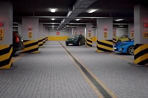 Парковочное место на подземной парковке