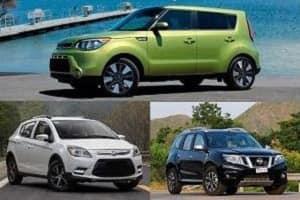 Кроссоверы с передним приводом: Lifan X50, Kia Soul, Nissan Terrano