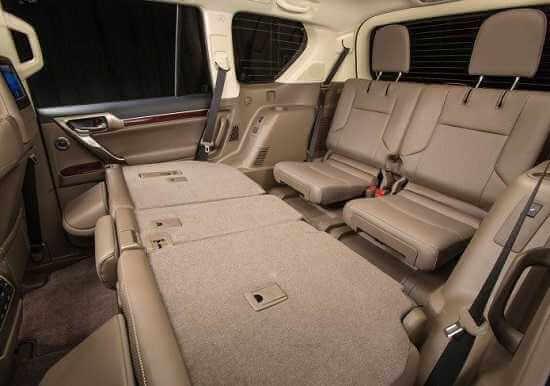 Салон Lexus GX