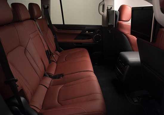 Салон Lexus LX 2016 года